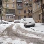 Челябинск после шторма со снегом и дождем