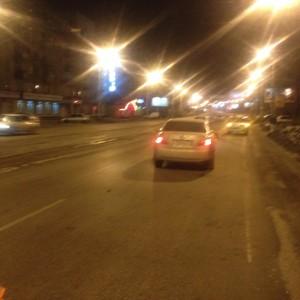 Отсутствие должной разметки на дороге