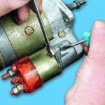 ремонт электродвигателя стартера